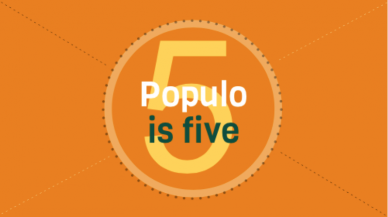 Populo is five!