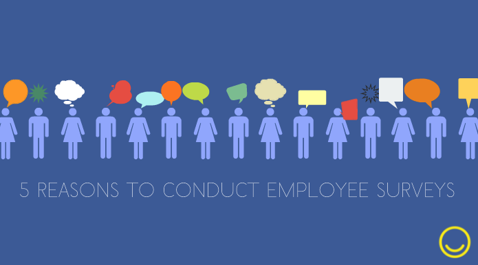 5 Reasons to conduct employee surveys
